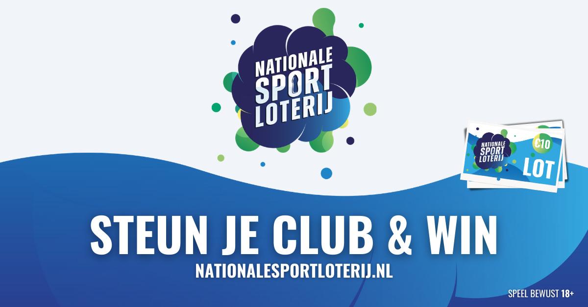 Nationale Sport Loterij (steun onze club & Win)